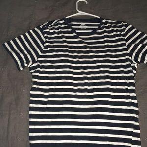 H&M men's medium striped shirt
